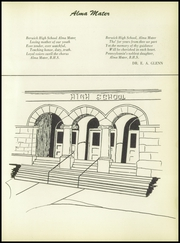 Page 7, 1956 Edition, Berwick High School - Blue and White Yearbook (Berwick, PA) online yearbook collection