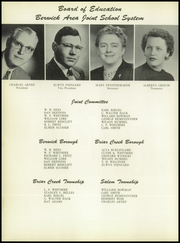 Page 8, 1956 Edition, Berwick High School - Blue and White Yearbook (Berwick, PA) online yearbook collection