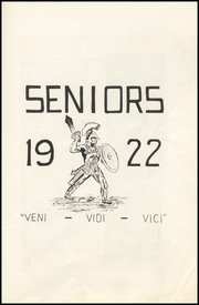 Page 11, 1922 Edition, Beaver High School - Shingas Yearbook (Beaver, PA) online yearbook collection