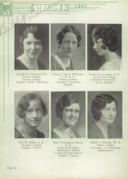 Page 16, 1931 Edition, Beaver High School - Shingas Yearbook (Beaver, PA) online yearbook collection