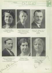 Page 17, 1931 Edition, Beaver High School - Shingas Yearbook (Beaver, PA) online yearbook collection