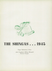 Page 5, 1943 Edition, Beaver High School - Shingas Yearbook (Beaver, PA) online yearbook collection