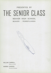 Page 9, 1944 Edition, Beaver High School - Shingas Yearbook (Beaver, PA) online yearbook collection