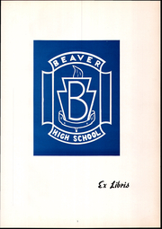 Page 5, 1955 Edition, Beaver High School - Shingas Yearbook (Beaver, PA) online yearbook collection