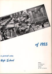 Page 7, 1955 Edition, Beaver High School - Shingas Yearbook (Beaver, PA) online yearbook collection