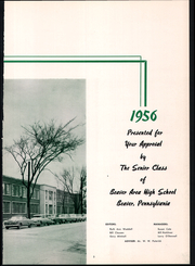 Page 7, 1956 Edition, Beaver High School - Shingas Yearbook (Beaver, PA) online yearbook collection