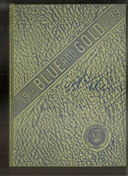 1939 Edition, Derry Area High School - Blue and Gold Yearbook (Derry, PA)