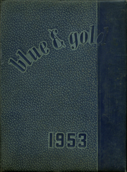 1953 Edition, Derry Area High School - Blue and Gold Yearbook (Derry, PA)