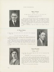 Page 12, 1930 Edition, Punxsutawney Area High School - Mirror Yearbook (Punxsutawney, PA) online yearbook collection