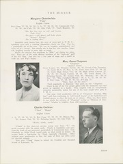Page 17, 1930 Edition, Punxsutawney Area High School - Mirror Yearbook (Punxsutawney, PA) online yearbook collection