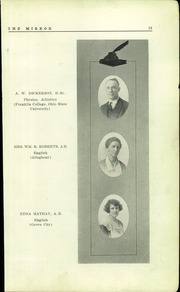 Page 11, 1923 Edition, Sharon High School - Mirror Yearbook (Sharon, PA) online yearbook collection
