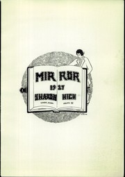 Page 5, 1927 Edition, Sharon High School - Mirror Yearbook (Sharon, PA) online yearbook collection