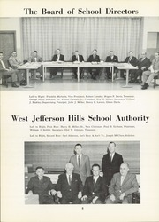 Page 12, 1962 Edition, Thomas Jefferson High School - Monticello Yearbook (Jefferson Hills, PA) online yearbook collection