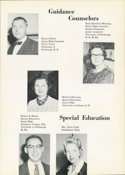 Page 15, 1962 Edition, Thomas Jefferson High School - Monticello Yearbook (Jefferson Hills, PA) online yearbook collection