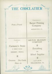 Page 144, 1929 Edition, Hershey High School - Choclatier Yearbook (Hershey, PA) online yearbook collection