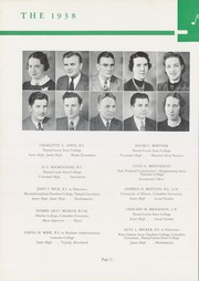 Page 16, 1938 Edition, Hershey High School - Choclatier Yearbook (Hershey, PA) online yearbook collection