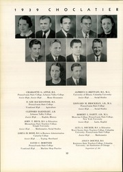 Page 16, 1939 Edition, Hershey High School - Choclatier Yearbook (Hershey, PA) online yearbook collection