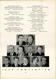 Page 17, 1939 Edition, Hershey High School - Choclatier Yearbook (Hershey, PA) online yearbook collection