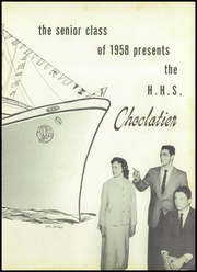 Page 5, 1958 Edition, Hershey High School - Choclatier Yearbook (Hershey, PA) online yearbook collection