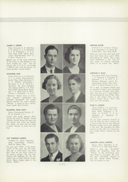 Page 17, 1936 Edition, Elizabethtown Area High School - Elizabethan Yearbook (Elizabethtown, PA) online yearbook collection
