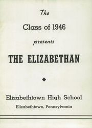 Page 3, 1946 Edition, Elizabethtown Area High School - Elizabethan Yearbook (Elizabethtown, PA) online yearbook collection