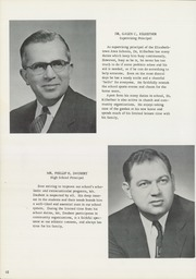 Page 14, 1959 Edition, Elizabethtown Area High School - Elizabethan Yearbook (Elizabethtown, PA) online yearbook collection