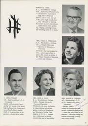Page 17, 1959 Edition, Elizabethtown Area High School - Elizabethan Yearbook (Elizabethtown, PA) online yearbook collection
