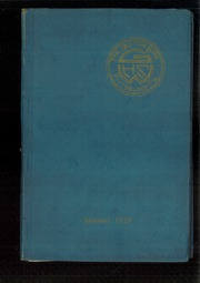 1928 Edition, George E Westinghouse High School - Sketch Book Yearbook (Pittsburgh, PA)