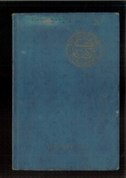 1929 Edition, George E Westinghouse High School - Sketch Book Yearbook (Pittsburgh, PA)