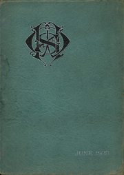 1930 Edition, George E Westinghouse High School - Sketch Book Yearbook (Pittsburgh, PA)