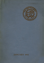 1931 Edition, George E Westinghouse High School - Sketch Book Yearbook (Pittsburgh, PA)