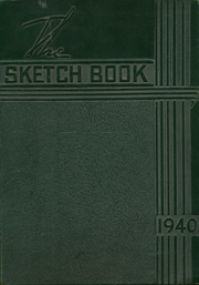 1940 Edition, George E Westinghouse High School - Sketch Book Yearbook (Pittsburgh, PA)