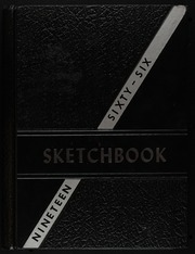 1966 Edition, George E Westinghouse High School - Sketch Book Yearbook (Pittsburgh, PA)