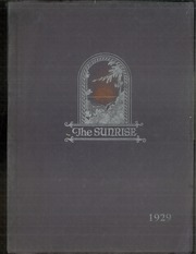 Page 1, 1929 Edition, East High School - Sunrise Yearbook (Erie, PA) online yearbook collection
