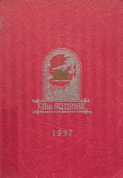 Page 1, 1937 Edition, East High School - Sunrise Yearbook (Erie, PA) online yearbook collection