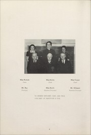 Page 10, 1938 Edition, East High School - Sunrise Yearbook (Erie, PA) online yearbook collection