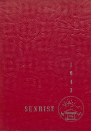 1943 Edition, East High School - Sunrise Yearbook (Erie, PA)