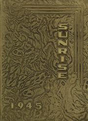 1945 Edition, East High School - Sunrise Yearbook (Erie, PA)