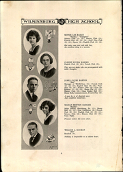 Page 10, 1922 Edition, Wilkinsburg High School - Annual Yearbook (Wilkinsburg, PA) online yearbook collection