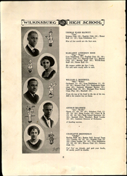 Page 12, 1922 Edition, Wilkinsburg High School - Annual Yearbook (Wilkinsburg, PA) online yearbook collection