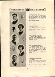 Page 14, 1922 Edition, Wilkinsburg High School - Annual Yearbook (Wilkinsburg, PA) online yearbook collection