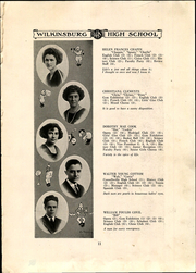 Page 15, 1922 Edition, Wilkinsburg High School - Annual Yearbook (Wilkinsburg, PA) online yearbook collection