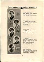Page 16, 1922 Edition, Wilkinsburg High School - Annual Yearbook (Wilkinsburg, PA) online yearbook collection