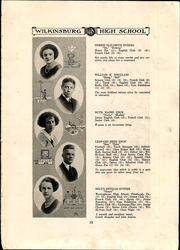 Page 17, 1922 Edition, Wilkinsburg High School - Annual Yearbook (Wilkinsburg, PA) online yearbook collection