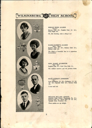 Page 9, 1922 Edition, Wilkinsburg High School - Annual Yearbook (Wilkinsburg, PA) online yearbook collection