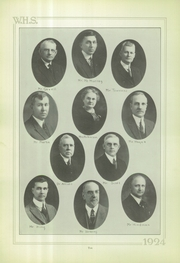 Page 10, 1924 Edition, Wilkinsburg High School - Annual Yearbook (Wilkinsburg, PA) online yearbook collection