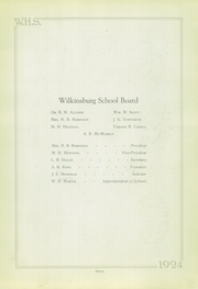 Page 11, 1924 Edition, Wilkinsburg High School - Annual Yearbook (Wilkinsburg, PA) online yearbook collection