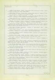 Page 13, 1924 Edition, Wilkinsburg High School - Annual Yearbook (Wilkinsburg, PA) online yearbook collection