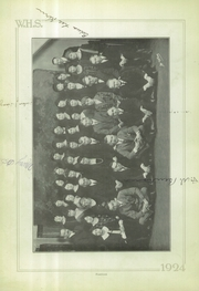 Page 14, 1924 Edition, Wilkinsburg High School - Annual Yearbook (Wilkinsburg, PA) online yearbook collection