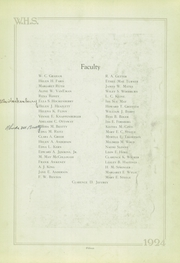 Page 15, 1924 Edition, Wilkinsburg High School - Annual Yearbook (Wilkinsburg, PA) online yearbook collection